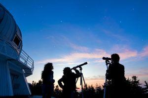 prismáticos, catalejos y telescopio