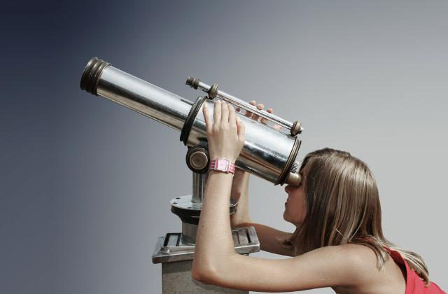 como funciona un telescopio