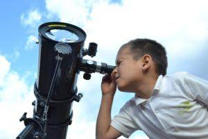 Telescopio astronómico profesional