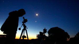 Telescopio para ver las estrellas
